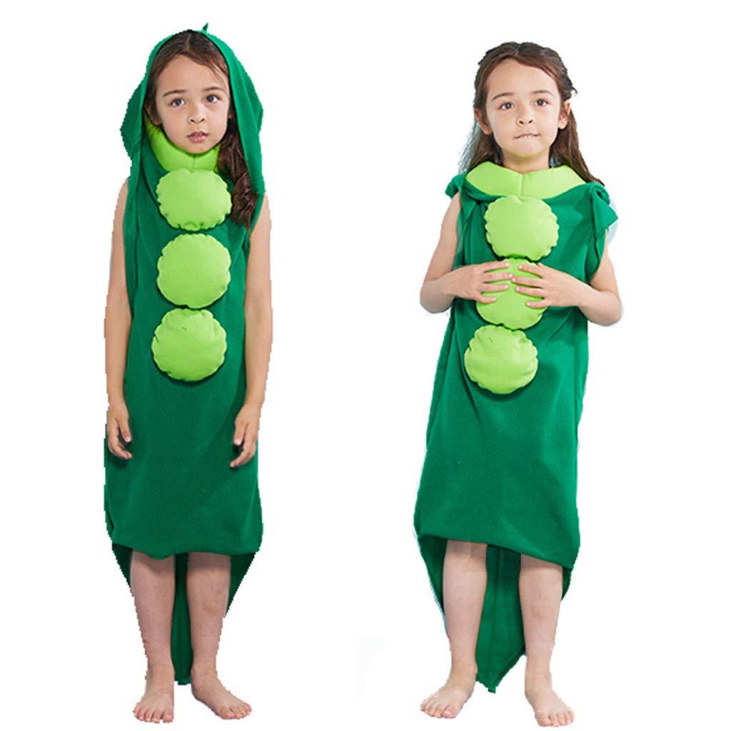 Cosplay Costume,Meetsunshine Children Halloween Costume Funny Party Cosplay Costume Pea Conjoined to Play Clothing (M) by Meetsunshine Halloween