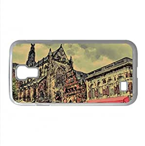 Saint Bavokerk Watercolor style Cover Samsung Galaxy S4 I9500 Case (Netherlands Watercolor style Cover Samsung Galaxy S4 I9500 Case)