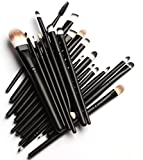 KOLIGHT 20 Pcs Pro Makeup Set Powder Face Foundation Eye shadow Eyeliner Lip Cosmetic Brushes