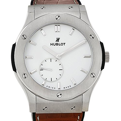 (Hublot Classic Fusion Mechanical (Hand-Winding) White Dial Mens Watch 515.NX.2210.LR (Certified Pre-Owned))