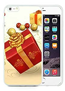 Personalized Hard Shell iPhone 6 Plus Case,Merry Christmas White iPhone 6 Plus 5.5 TPU Case 62