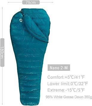 Amazon.com: AEGISMAX Nano Series - Saco de dormir de ...