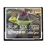 Kingston Elite Pro 8GB 45X Speed Compact Flash - Best Reviews Guide