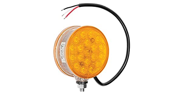 Round Auxiliary LED Work Light with 19/' Coiled Cord and Magnetic Base Wesbar Round Auxiliary LED Work Light with 19 Coiled Cord and Magnetic Base Wesbar 54209-017 54209-017