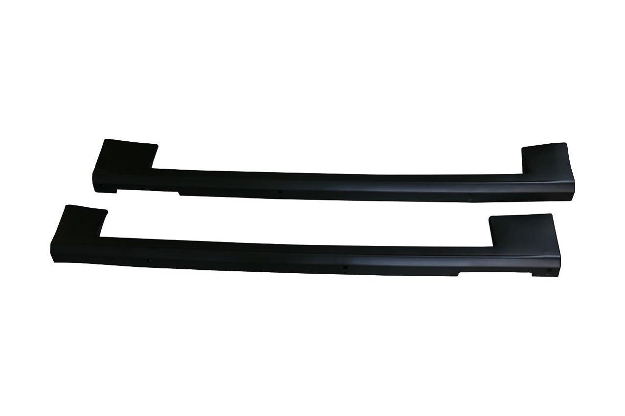 文言気取らない辞任サムライプロデュース 新型プリウス プリウス50系 ZVW51 ZVW55 サイドステップ外側 スカッフプレート 4P シルバーヘアライン