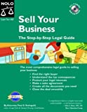 Sell Your Business, Fred S. Steingold, 1413300189