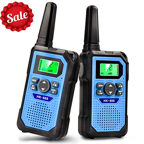 VERDUO Walkie Talkies for Kids, Toys for 3-12 Year Old Boys Girls 22 Channel 2 Way Radio 3 Mile Long Range Kids Toys, Gifts & Top Toys for Boy & Girls Age 3 4 5 6 7 8 9 for Outdoor Adventure Game