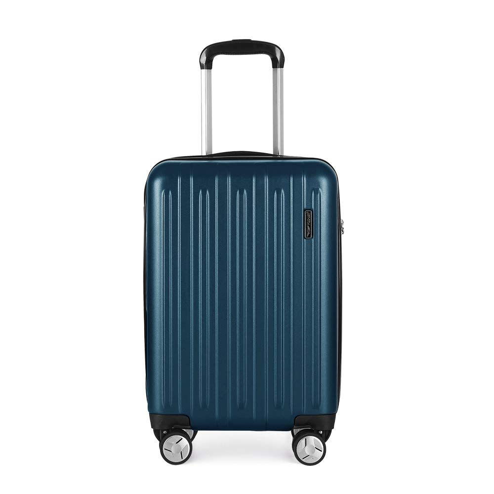 062b5a4f6117 Fochier Carry on Luggage Lightweight Spinner Suitcase with TSA Lock