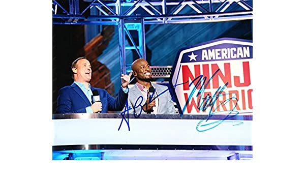 AKBAR GBAJA-BIAMILA MATT ISEMAN SIGNED 8X10 PHOTO AMERICAN ...