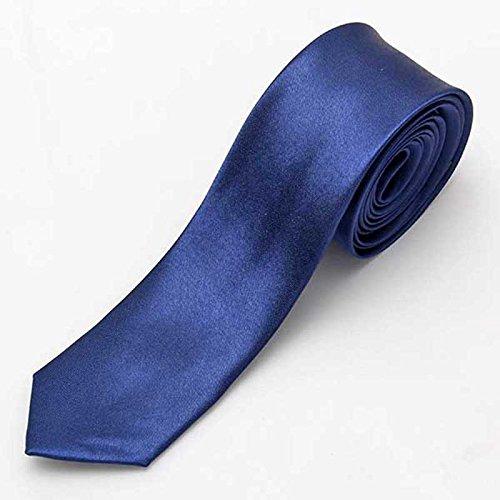 (SysPod(TM) New Necktie Skinny Tie Neckwear New Men's Solid Color Plain Silk Narrow Arrow)