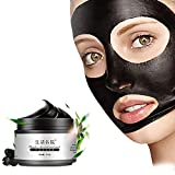 Facial Steam How Long - ROMANTIC BEAR Blackhead Peel Off Mask Activated Charcoal Blackhead Shrink Pore Oil Control Acne Tear-pull Mask Cream