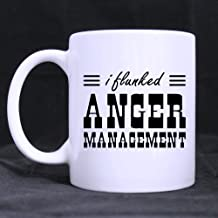 Popular Funny Quotes - I FLUNKED ANGER MANAGEMENT Morphing Coffee Mug or Tea Cup,Ceramic Material Mugs - 11 oz