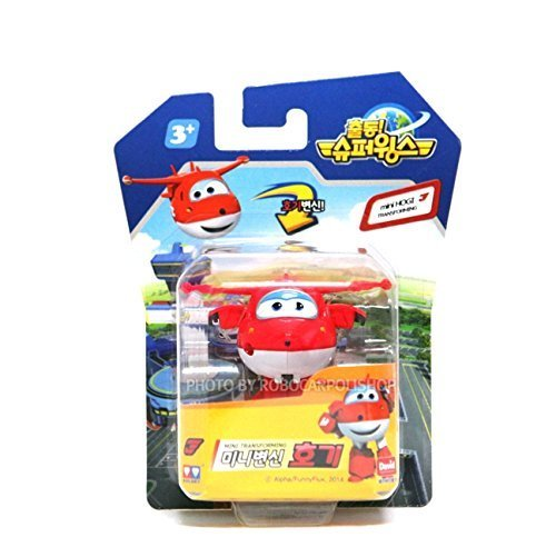 SUPER WINGS HOGI, MINI TRANSFORMER, Korean toy, Korean animation