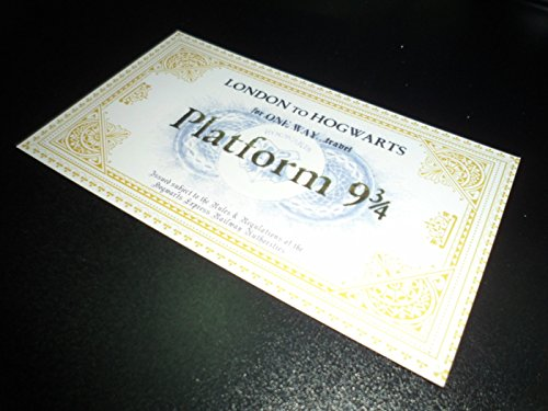 Harry Potter School Acceptance Letter London to Hogwarts Tickets Only