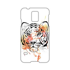 Watercolor Painting The Tiger 3D Phone Case for Samsung S5