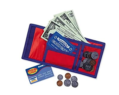 Learning Resources Pretend & Play Cash 'N' Carry Wallet from Learning Resources
