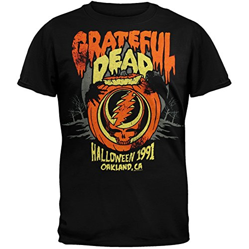 Old Glory Grateful Dead - Mens Halloween '91 Soft T-shirt Medium Black OG Exclusive -