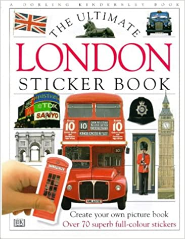 The Ultimate London Sticker Book with Sticker (DK Ultimate Sticker Books)