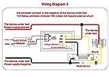 BenchTech BT-YB27VA DC Panel 0-100V Volt Ampere/Amp Meter 2in1 Red/Blue 2-color Display LED Voltmeter Car 12V 24V Built-in Shunt