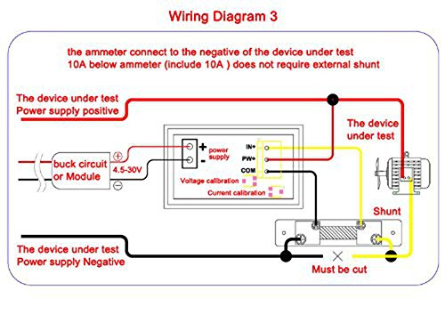 12v relay wire diagram 12v meter wire diagram