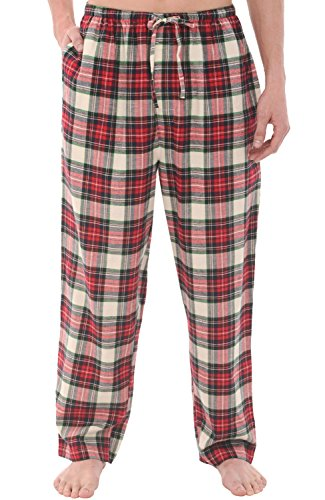 plaid pajama pants - 7