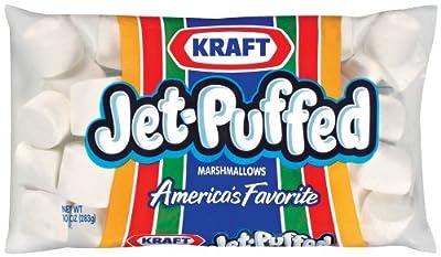 Kraft Jet-Puffed Original Large Marshmallows, 10 oz Bag (Pack of 2)
