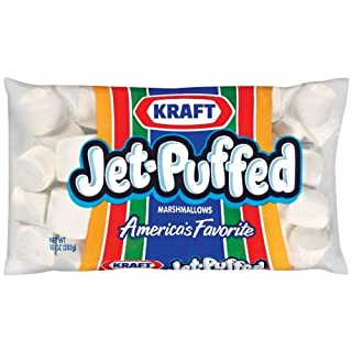 Kraft Jet-Puffed Original Marshmallows, 10 oz Bag (Pack of 4)
