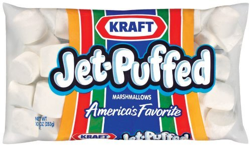 Kraft Jet-Puffed Original Large Marshmallows, 10 oz Bag (Pack of 2)