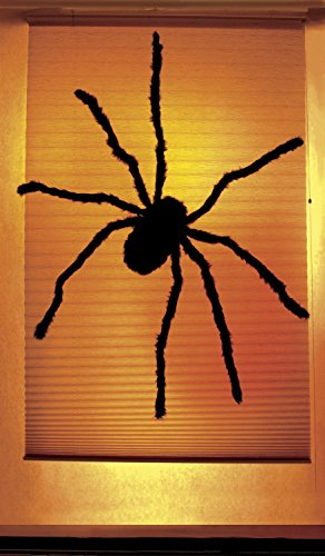 WOWindow Posters Black Widow Single Spider Shade Halloween Window Decoration includes one 34.5