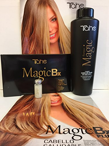Tahe Magic Bx 6 x 10ml Plus Magic Dry Hair Shampoo 1000 ML by Tahe