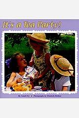 It's a Tea Party! (Reading Railroad) Paperback