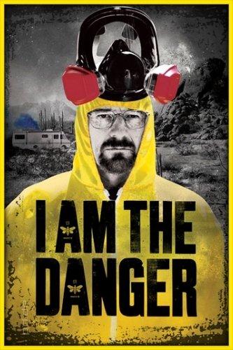 Póster Breaking Bad - Walter White en traje de protección ...
