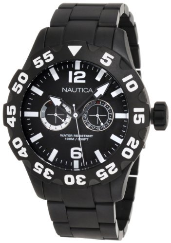 Nautica Men's N23099G Bfd 100 Multi Watch
