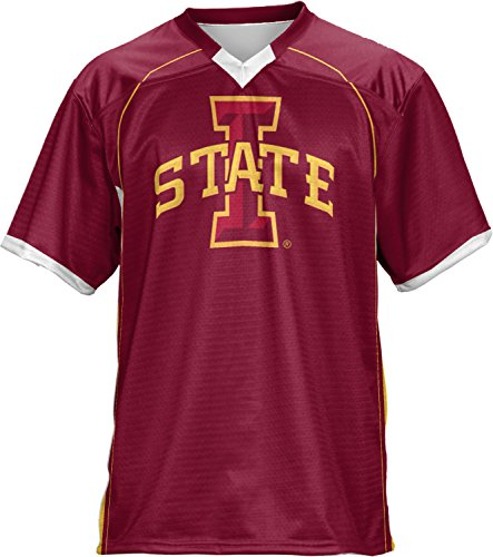 ProSphere Boys' Iowa State University No Huddle Football Fan Jersey (Apparel)