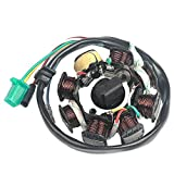Savior Scooter Ignition Stator Magneto DC 8 Pole Coils for GY6 150 150cc Engine Part Moped Go Kart ATV