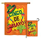 Cheap Ornament Collection S192025-BO Cinco de Mayo Country & Primitive Southwest Impressions Decorative Vertical House 28″ X 40″ Garden 13″ X 18.5″ Double Sided Flags Set Printed in USA Multi-Color