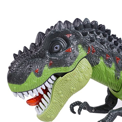 Ovovo Dinosaur Robot Toy for Boys Girls Large Size Walking Dinosaur Toy with Light and Sound, Real Movement. by Ovovo (Image #1)
