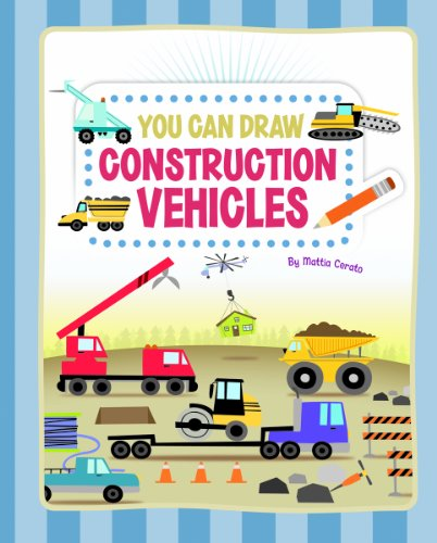 You Can Draw Construction Vehicles by Brand: Picture Window Books (Image #1)
