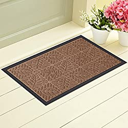 Outdoor Rubber Doormat for Front Door Heavy Duty Outside...