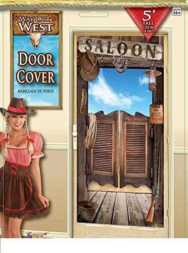 Way Out West Western Party Door Cover (Grown Up Party Themes)