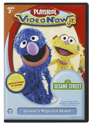 Videonow Jr. Personal Video Disc: Sesame Street #4 by Hasbro (Image #1)