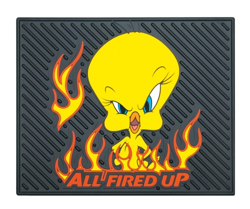 Plasticolor Tweety All Fired Up Molded Utility Mat- 14""