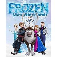 Frozen Libro Para Colorear: más de 50 ilustraciónalta