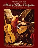 img - for Anthology for Music in Western Civilization, Volume II book / textbook / text book