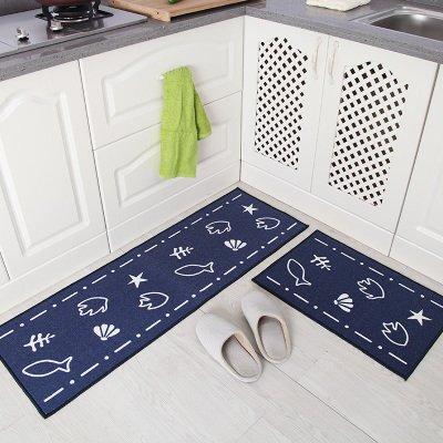 DDIT 2PCS Tappetino da cucina moderno Tappeto da salotto antiscivolo ...