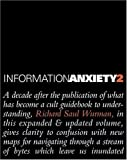 Information Anxiety 2 (Hayden/Que) 1st (first) Edition by Wurman, Richard S published by QUE (2000)