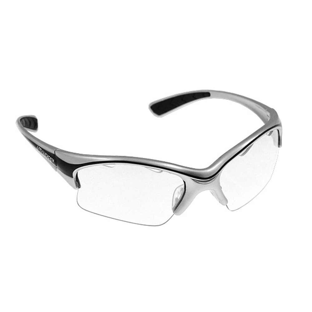 Black Knight Stiletto Squash Eyeguard Silver