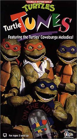 Amazon.com: Turtle Tunes [VHS]: Teenage Mutant Ninja: Movies ...