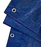 GardenMate 2m x 3m Tarpaulin Waterproof Heavy Duty - Universal Blue/Green tarp Sheet - Premium Quality Cover Made of 90gramm/Square metre Tarpaulin