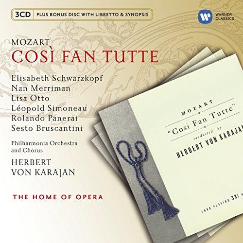 Mozart Cosi Fan Tutte K 588